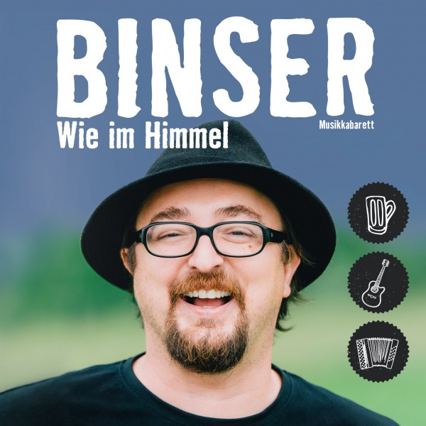 "Helmut A. Binser – ""Wie im Himmel"" – Live CD"